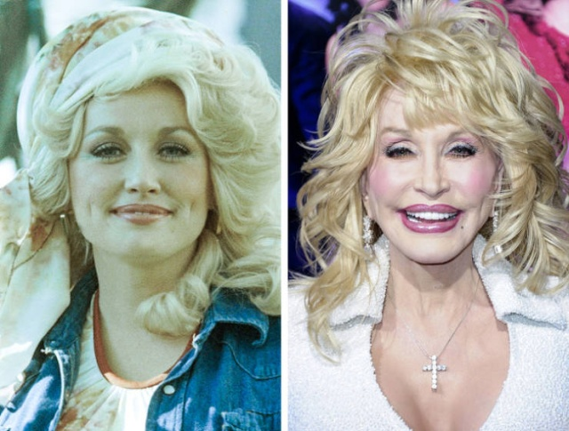 How Celebs Have Changed, part 2
