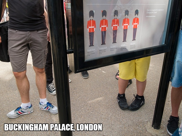 Photographer Visits Famous Landmarks, Faces The Wrong Direction