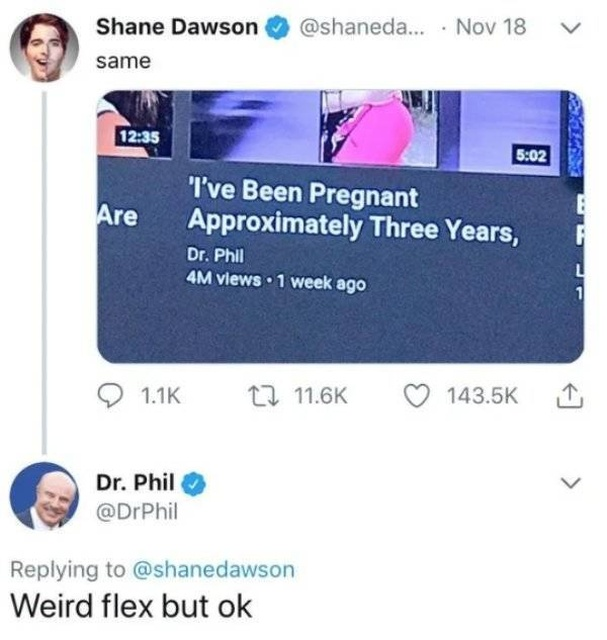 Odd Flex, But Ok