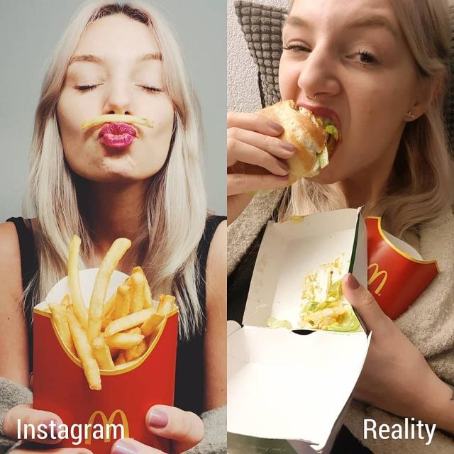 Instagram Vs Reality, part 4