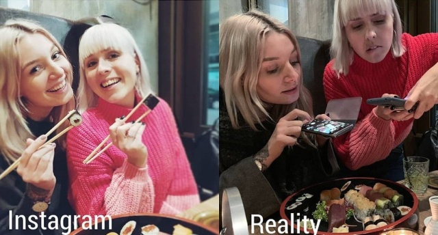 Instagram Vs Reality, part 4