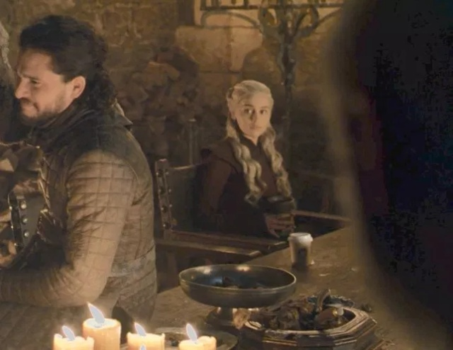 Starbucks Cup Left In Game Of Thrones Shot