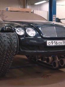 Russians Has Built A Bentley Continental GT Tank