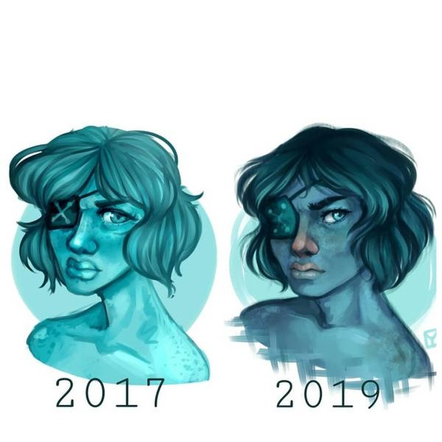 """""""Draw This Again"""" Challenge By Artists"""