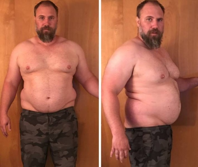 Guy Loses 92 lbs
