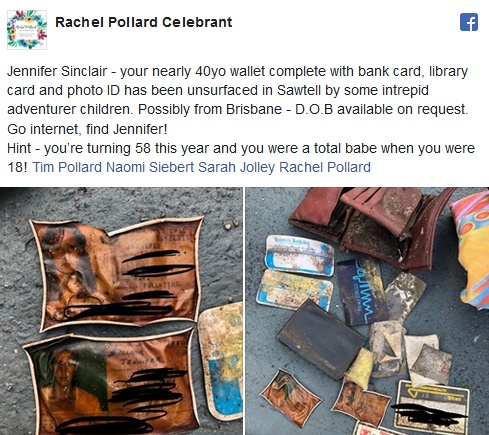 A Wallet Found 40 Years After It Went Missing