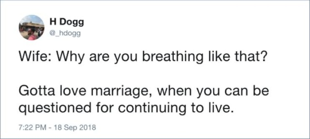Tweets About Marriage, part 3