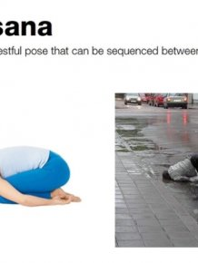 Drunk Yoga Positions