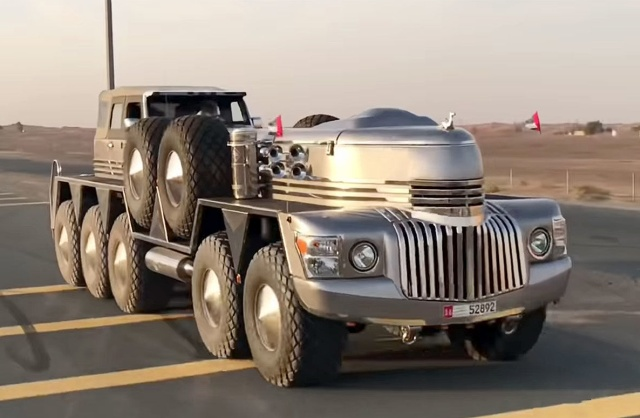 10-Wheel SUV