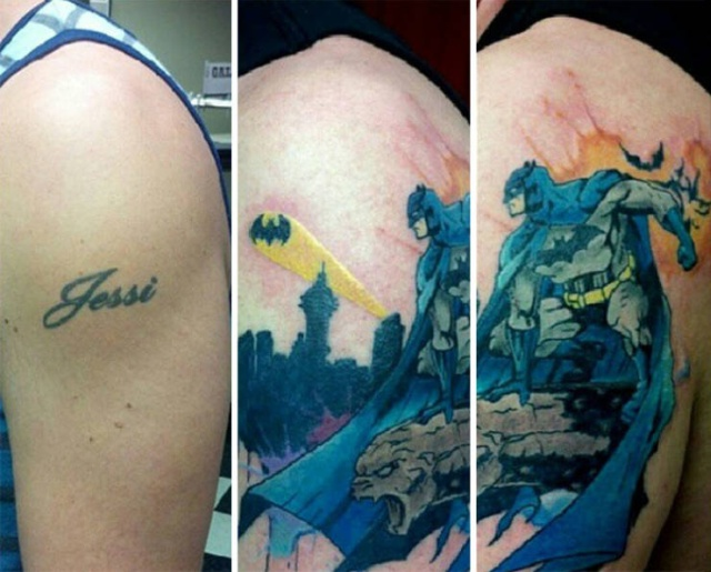 Covering Up Tattoos In Creative Way