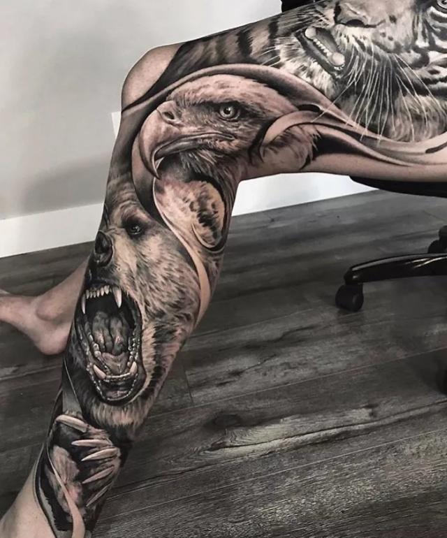 Great Leg Tattoos