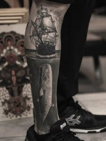 Great Leg Tattoos