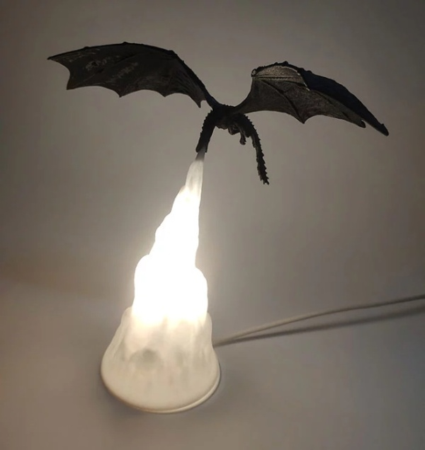Awesome 'Game Of Thrones' Lamp
