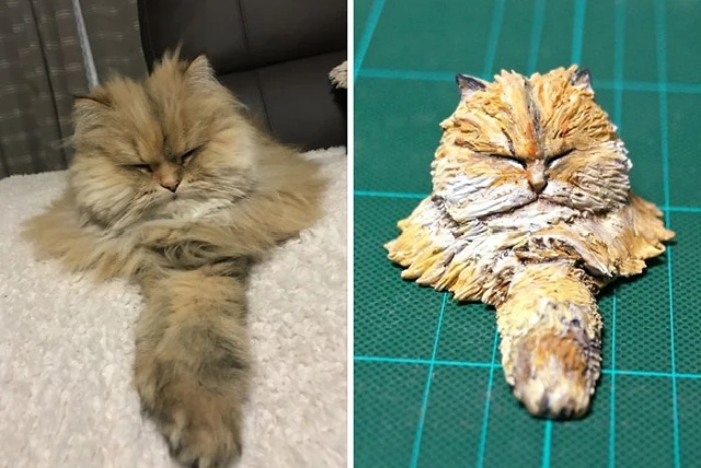 Funny Animal Images Turned Into Funny Sculptures By A Japanese Artist