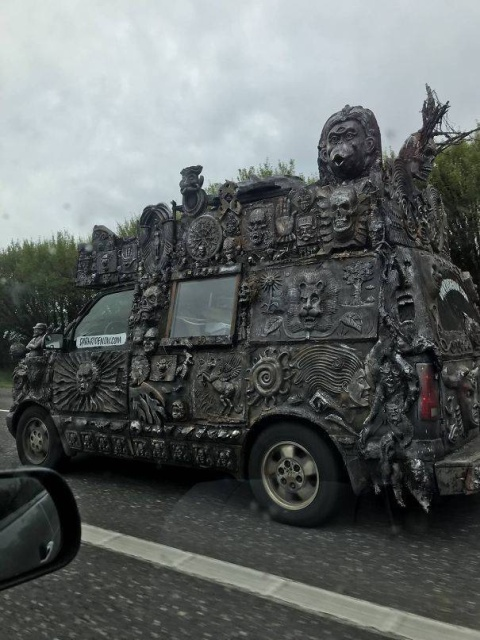 Strange Things Seen On The Roads