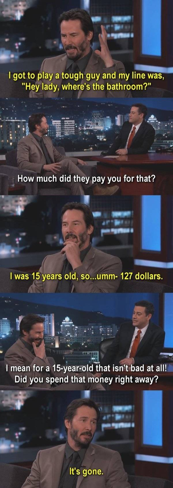 Keanu Reeves Is A Great Guy And A Great Actor