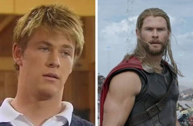 Avengers Stars When They Were Kids, part 2