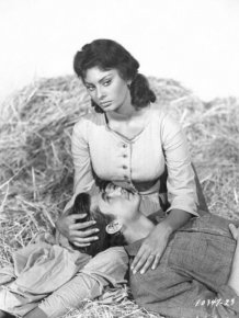 Sophia Loren and Anthony Perkins In 'Desire Under the Elms'