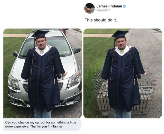 Photoshop Trolling By James Fridman