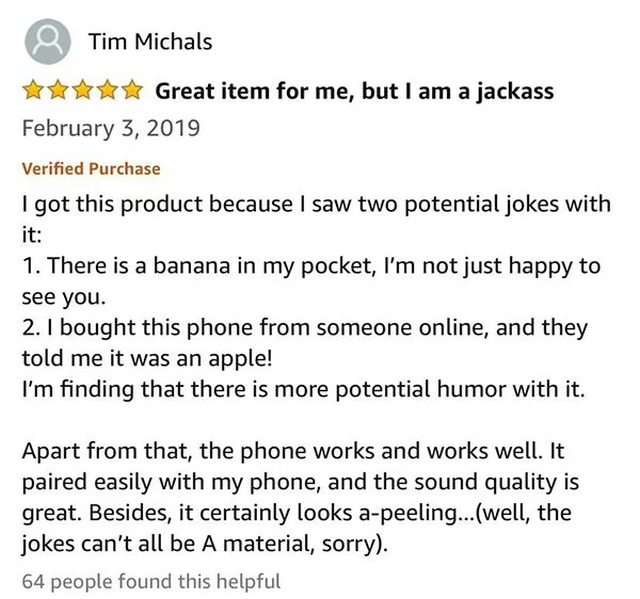 Funny Amazon Questions And Reviews
