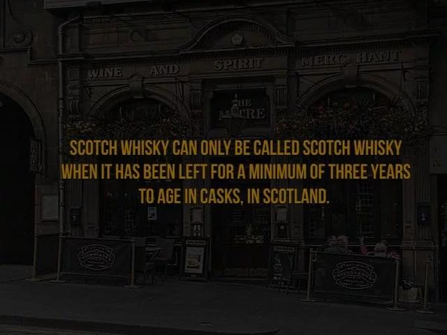 Scotch Facts