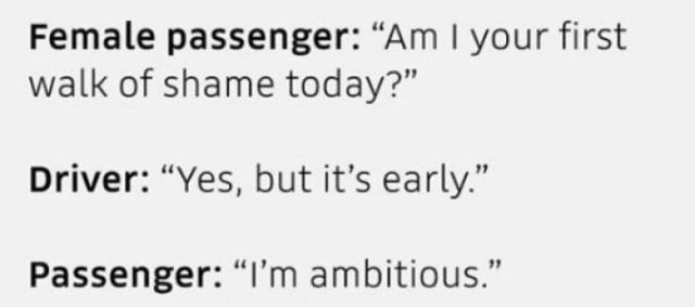 Overheard In Ubers
