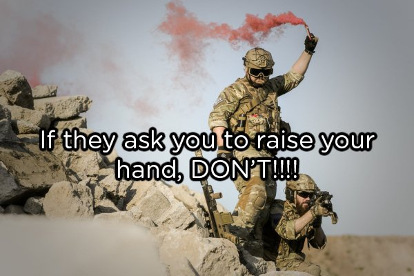 Advice For The Military Newbies