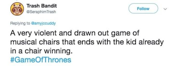 """Game Of Thrones"" Explained In One Tweet"