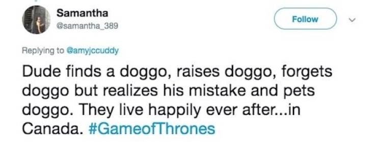 """Game Of Thrones"" Explained In One Tweet"