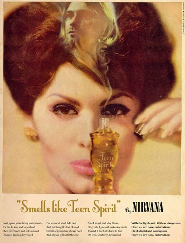 Famous Music Hits Turned Into Vintage Ad Posters