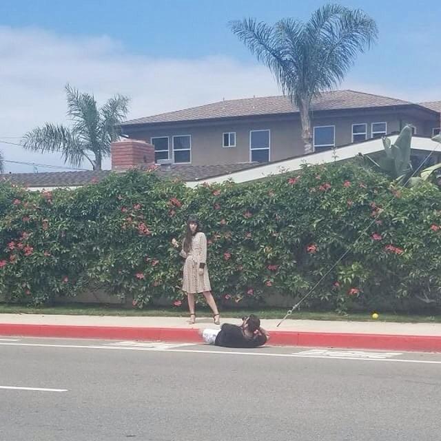 Guys Taking Photos
