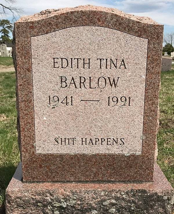 Tombstones Can Be Funny Too