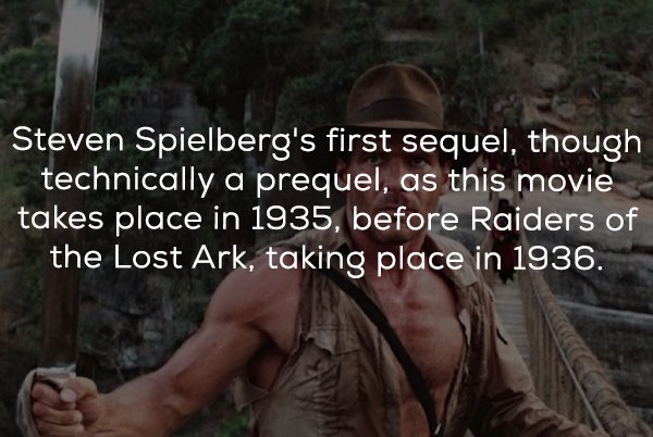 Facts About Indiana Jones and the Temple of Doom