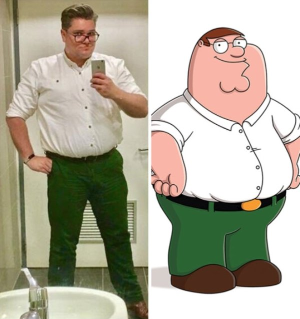 Accidental Cosplay