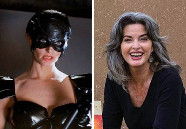 Superheroes From The Past Then And Now