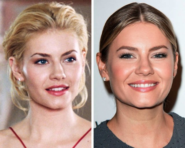 Hot TV Stars Of The 2000's Then And Now