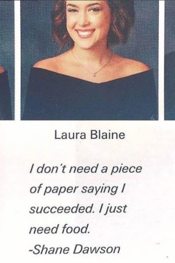 Senior Quotes, part 2