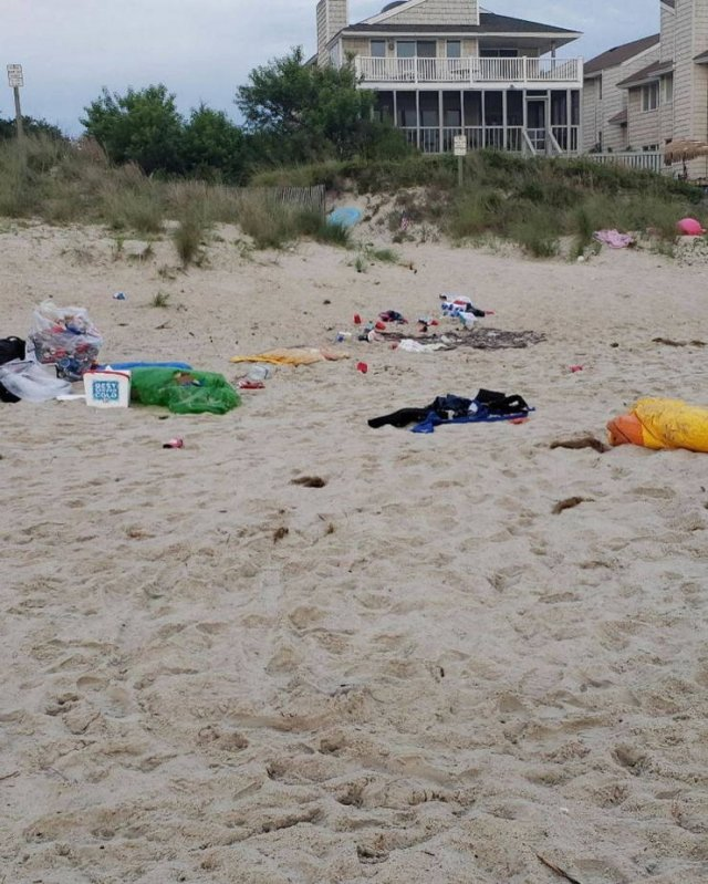 This Is How Memorial Day Tourists Destroy Virginia Beach