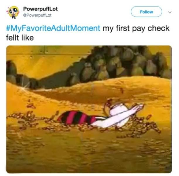 Favorite Adult Moments