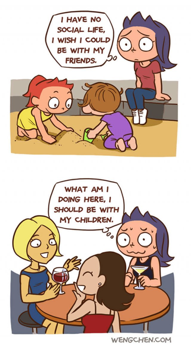 True And Funny Comics About Parenting