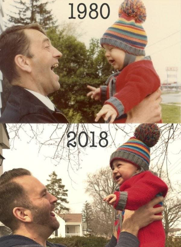 Then And Now Photos