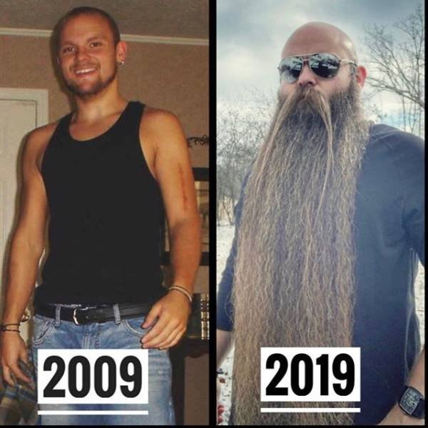 What Happens If You Don't Shave Your Beard For Five Years