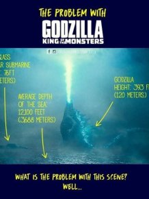 How Does Godzilla Stand In The Middle Of The Ocean?