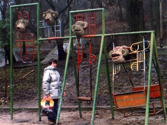 Scary Playgrounds In Russia