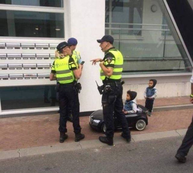 Police Has Fun