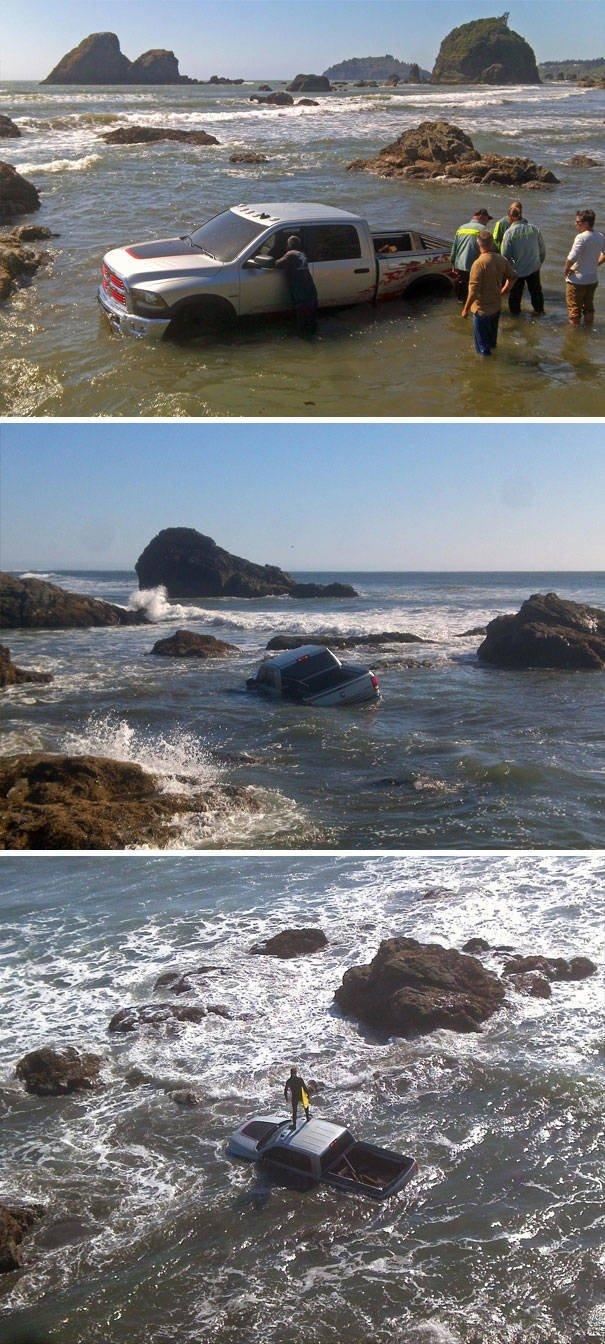 Funny Beach Photos