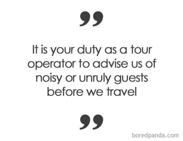 Stupid Travel Complaints