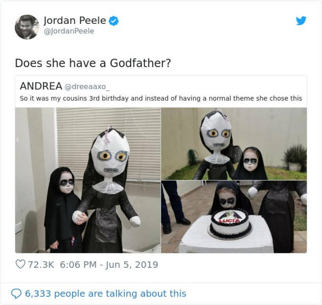 3-Year-Old Picks A Horror Movie As Her Birthday Party Theme