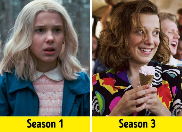 TV Show Actors, First Season Vs. Last Season