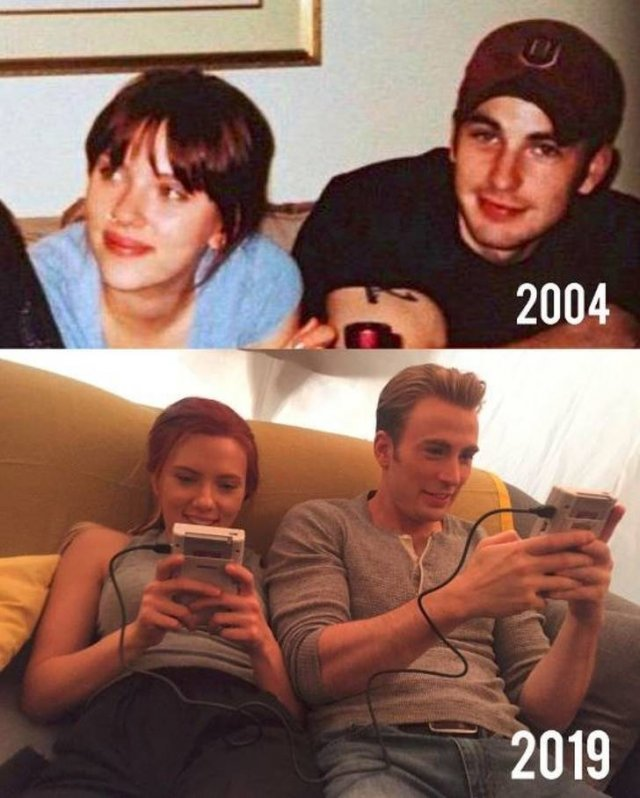 Best Friends Years Later